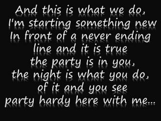 Byz - The party is in you {lyrics}