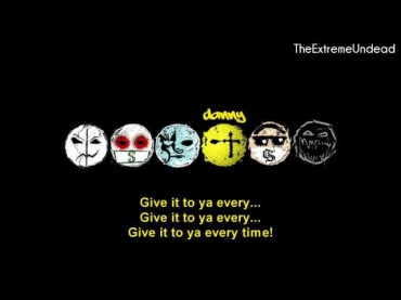 Hollywood Undead - Gangsta Sexy [Lyrics Video]